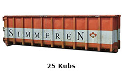 25 Kubs container