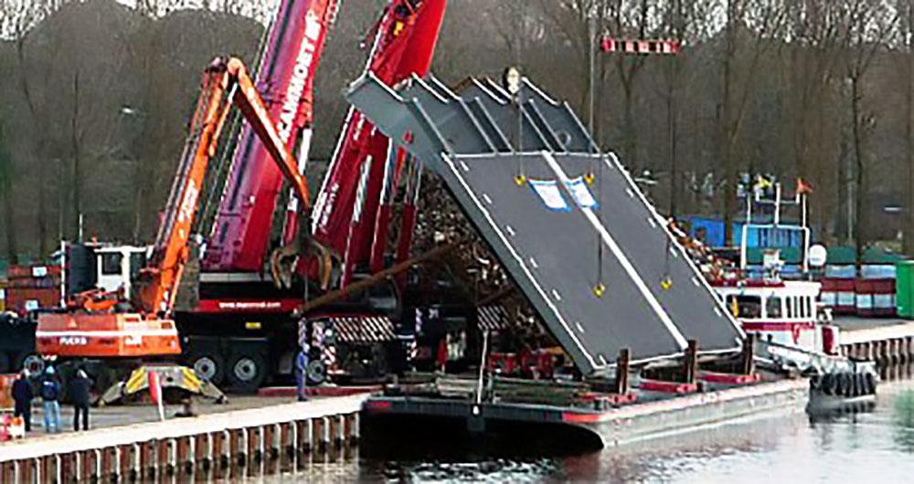 Vernieuwing Julianabrug te Groningen