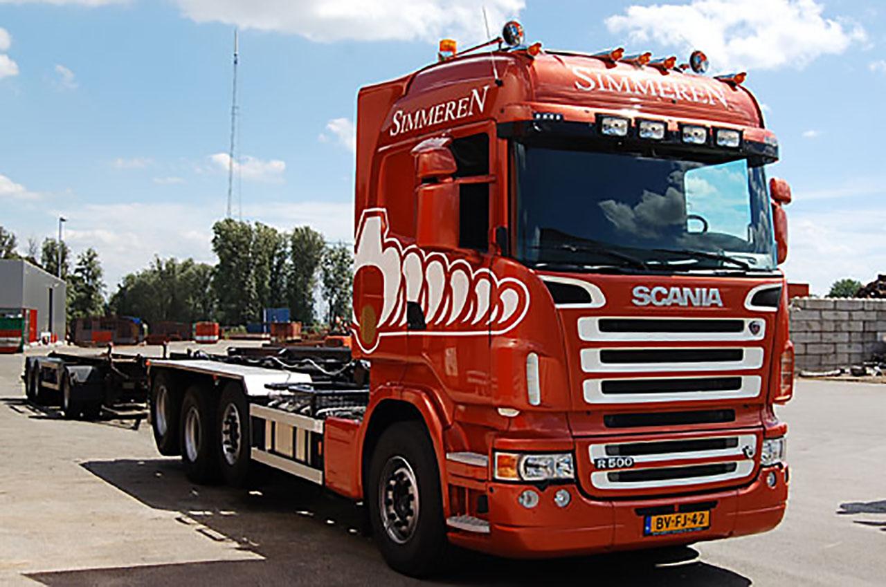 Nieuwe truck